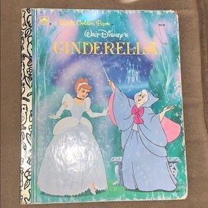 Walt Disney's Cinderella, A Little Golden Book1986